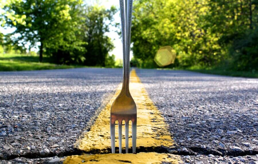 fork in the road superhero academy