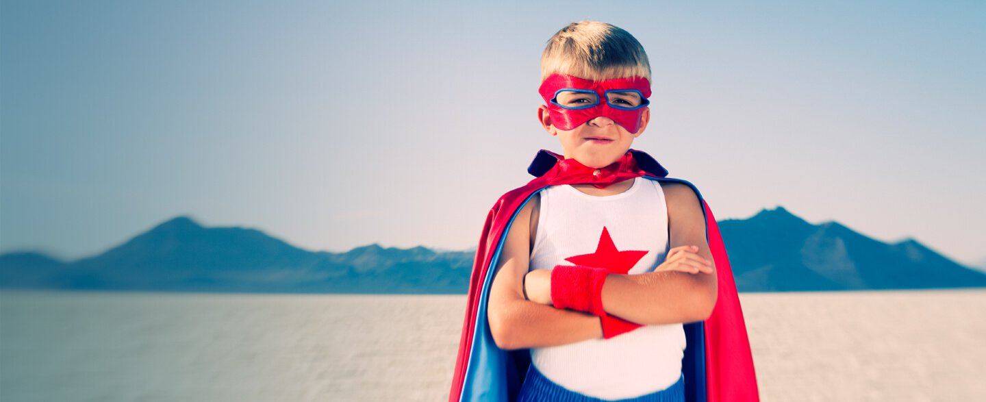 Be Your Own Hero - Superhero Academy