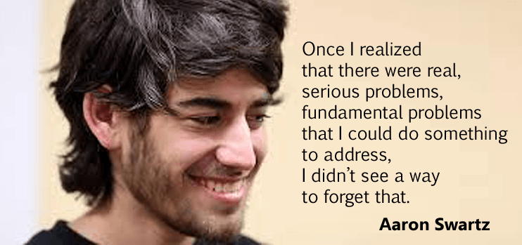 Aaron Swartz internets own boy