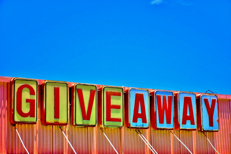 GIVEAWAY light up letters on a container // Photographer: Don Agnello   Source: Unsplash